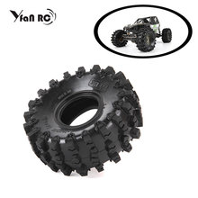 4PCS D1RC Super Grip Two-stage Sponge RC CRAWLER CAR 2.2 Inch Thick Wheel Tires FOR 1:8 SCALE Axial 90018 90048 90045 90031