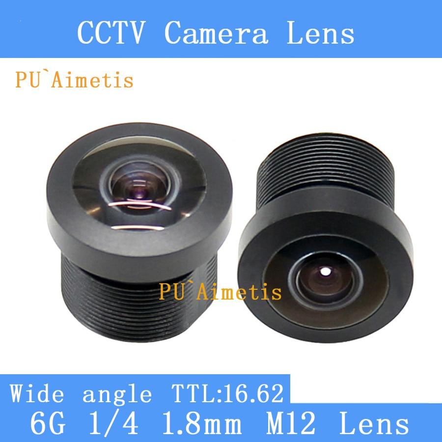 PU`Aimetis HD cctv lens 1.8MM M12 video surveillance camera 1/4 wide angle cctv lenses pu aimetis cctv lenses 3mp 1 2 7 hd 2 8mm surveillance camera 120 degrees wide angle infrared m12 lens thread