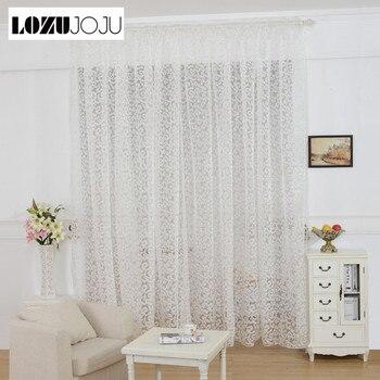 LOZUJOJU listo para hacer cortinas para sala de estar elegante panel gotas para sala de estar gran oferta blanco beige color cinta de tela