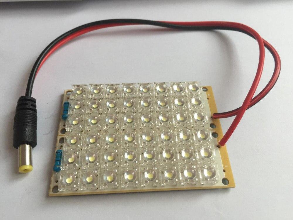 Leuchtperlen Licht & Beleuchtung PüNktlich Super Helle Dc 12 V Weißes Licht 48 Led Piranha Led-tafel Lampe Beleuchtung Angenehme SüßE