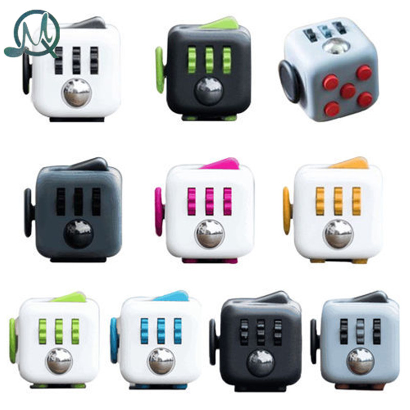 MQ Mini Fidget Cube Toy Vinyl Desk Finger Toys Squeeze Fun Stress Reliever 3.3cm High Quality Antistress Cubo 9 types squeeze stress reliever fidget cube pc vinyl fidgetcube game toy kickstarter fidget toys for girl boys christmas gifts