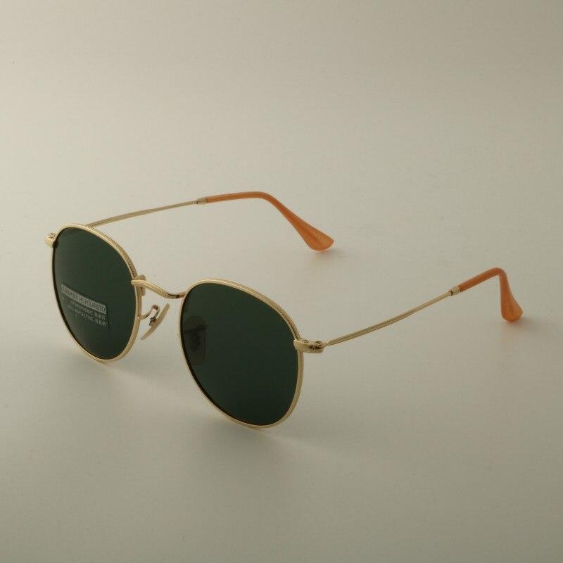 HDSUNFLY Fashion Polarized Sunglasses For Men Women Brand Designer Round Vintage Retro John Lennon Eyewear Driving Sun Glasses