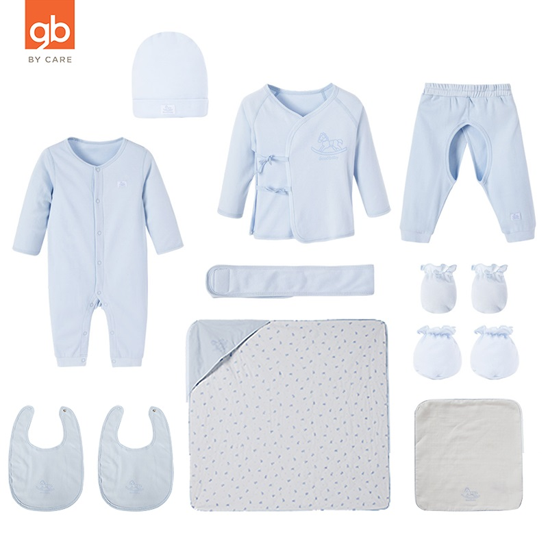 Goodbaby 12 Pieces Newborn Cotton Clothes Suits Baby Full Moon Gift Box Hat Kerchief Glove Foot-Sleeve Jumpsuit Pants Lace TopGoodbaby 12 Pieces Newborn Cotton Clothes Suits Baby Full Moon Gift Box Hat Kerchief Glove Foot-Sleeve Jumpsuit Pants Lace Top