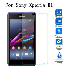 For Sony Xperia Screen Protector Tempered Glass Sony Xperia E3 E4 E5 Z1 Z2 Z3 Z4 Z5 Mini Compact C3 C4 C5 Ultra Protective Film цена 2017