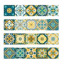 Vintage Moroccan Style Tiles Stickers PVC Waterproof Self Adhesive Wall  Stickers Furniture Bathroom DIY Removable Tile