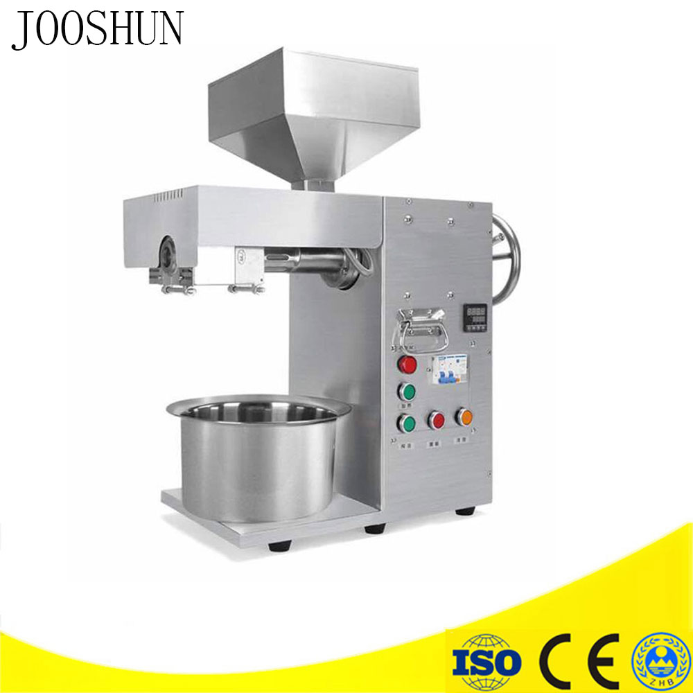 Hot/Cold Press Oil Machine Commercial Small Business Equipment Oil Extractor Stainless Steel Peanuts Oil Press Machine Seeds ect Масло