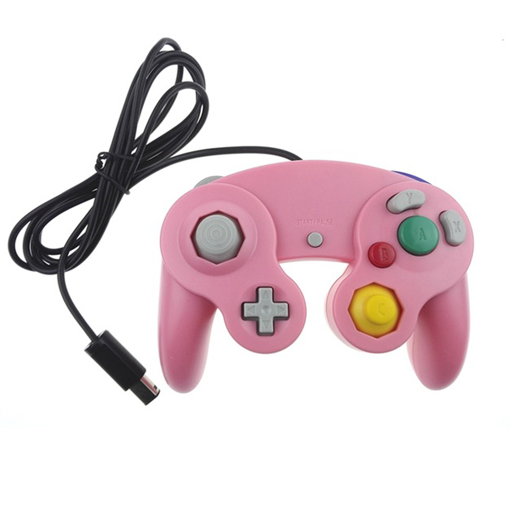 Image 3 - HAOBA Game Shock JoyPad Vibration For Ninten for Wii GameCube Controller for Pad Two kinds interface Multi color optional-in Gamepads from Consumer Electronics