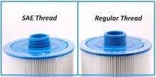 spa filter cartridge 205*150 (or 8'x6′) with SAE THREAD 1 1/2′ (3.8cm)