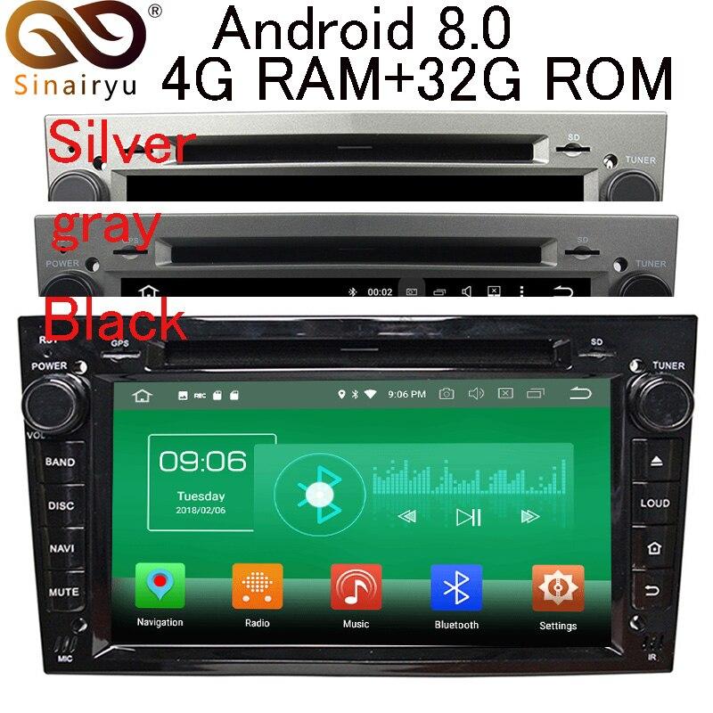 4 г Оперативная память Android 8,0 автомобиль DVD для Opel Vectra Antara Zefira Corsa Meriva Astra 8 Core радио gps мультимедиа плеер головное устройство
