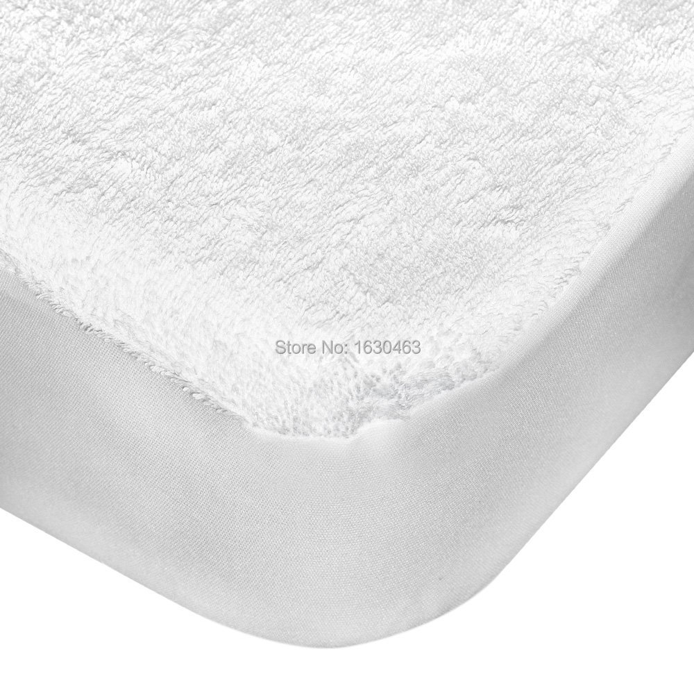 Size 90x190cm Terry Waterproof Mattress Protector Cover For Bed Bug Suit Uk In Covers Grippers From Home Garden On