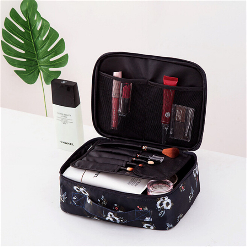 97f40e71b5fb US $11.35 30% OFF|WHISM Oxford Fabric Cosmetic Bag Waterproof Makeup Bag  Girls Cosmetic Case Women Pouch Travel Toiletry Storage Holder Bag-in  Storage ...