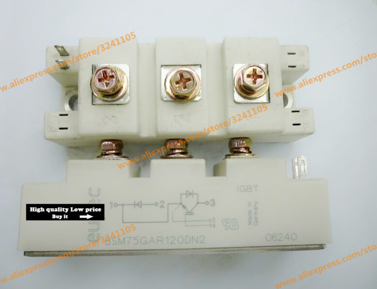 Free shipping NEW BSM75GAR120DN2 MODULE free shipping new