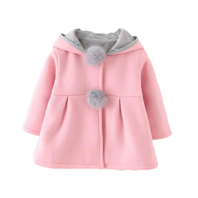 e85dcb7c6503 Online Shop 2018 Spring Children Jackets Baby Girl Rabbit Autumn ...