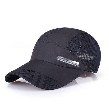 a3df4391935d0 1 pieza gorra de béisbol hombres deportes al aire libre Golf ocio sombreros  accesorios de los hombres unisex de secado rápido gorras