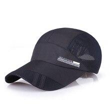 1Piece Baseball Cap Men Outdoor Sports Golf  leisure hats mens accessories Unisex quick-dry caps