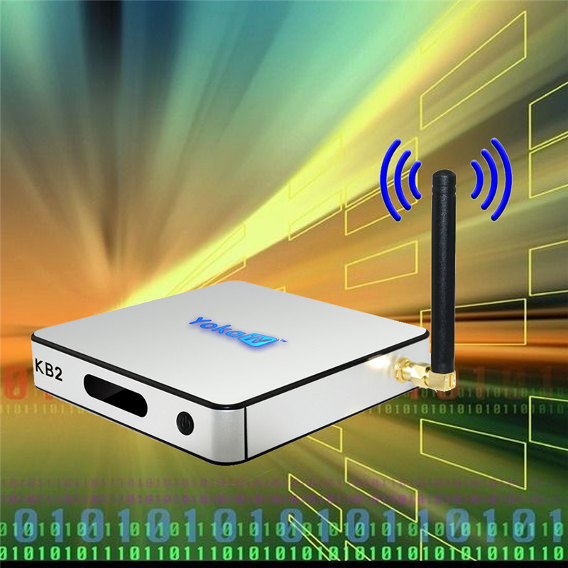 YOKA KB2 Android TV Box Amlogic S912 Octa Core Dual Band WiFi Bluetooth 4.0 2G DDR3 RAM 32G eMMC ROM KD 17.0 free drop shipping