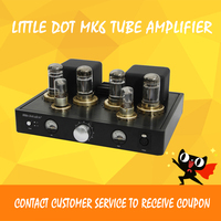 ASD Little Dot MK6 VI+ 6080 X4 6H9C X2 Balanced Tube Pre AMP Tube Headphone Amplifier Stereo Amplifier HiFi Power Amp