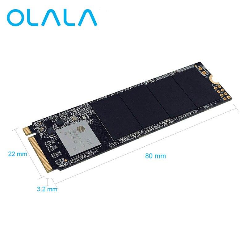 Nouvelle Arrivée OLALA M.2 PCIe SSD Interne Solid State Drive Super Vitesse 480 gb M.2 SSD PCIe NVMe Pour PC serveur portable