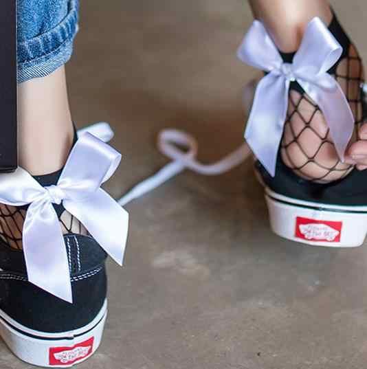BKLD แฟชั่น 2017 ใหม่ผู้หญิงเซ็กซี่ตาข่ายดำถุงเท้าสั้นข้อเท้าคริสต์มาสหญิง Fishnet ถุงเท้าน่ารักถุงเท้าสุภาพสตรี 6 สี