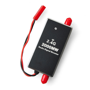Image 2 - FPV 2.4G 2 واط 2000mW راديو صغير إشارة الداعم مكبر للصوت وحدة ل RC الارسال FPV تمديد المدى F16682