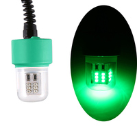 white light 15W LED Underwater Night Fishing Light 360 Degree 12V LED Fish Lure Lamp with 5.5M Cord Yellow/White/Green (5)