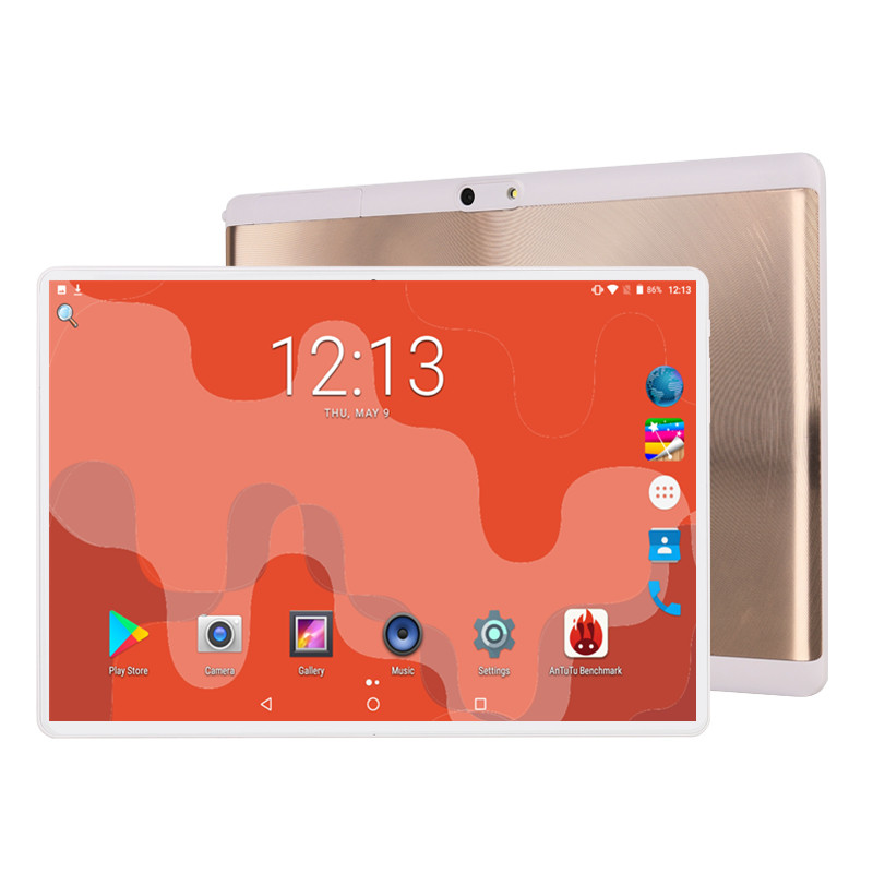 Phablet 10.1 Tablet Screen Mutlti Touch Android 9.0 Octa Core Ram 6GB ROM 64GB Camera 8MP Wifi 10 Inch Tablet 4G LTE Pro Pc