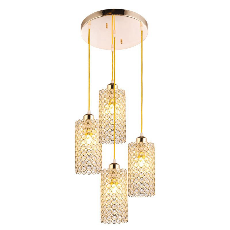 Modern Crystal Dining Room Pendant Lamp Restaurant Hallway Corridor Hanging Lights Bar Counter balcony Pendant Lighting Fixtures led oblong crystal tube dining room pendant lights restaurant bar counter pendant light balcony hallway hanging fixtures