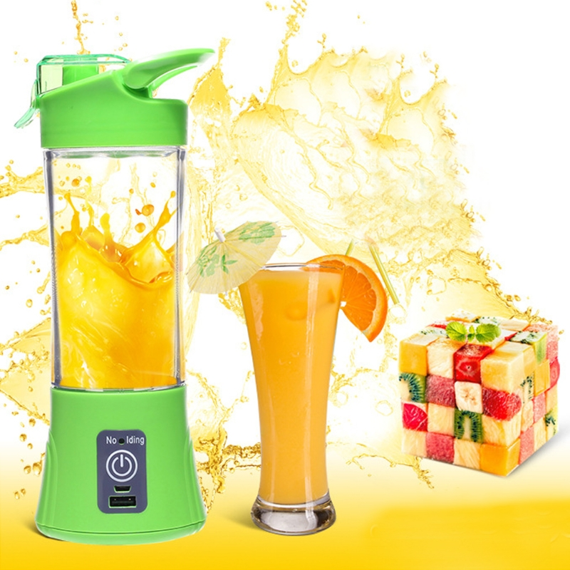 USB Mini Juicer Handheld Extractor Squeezer Smoothie Maker Blender Cup Portable