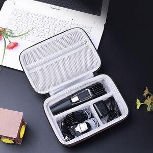 Image 5 - EVA depolama seyahat taşınabilir kutu kapak çanta Case Philips Norelco Multigroom serisi 3000 5000 7000 MG3750 MG5750/49 MG7750/49