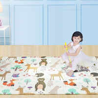 150X200cm Baby Play Mat Xpe Puzzle  Children's Rug Thickened Tapete Infantil Gym Baby Room Crawling Pad Folding  Carpet For Kids