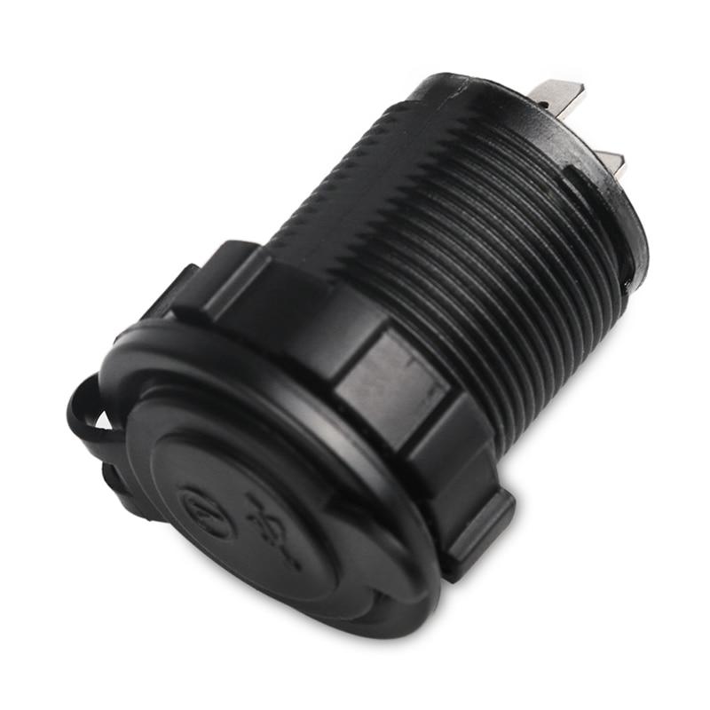 12 v 2.1A Auto Dual USB Autolader Voltmeter Adapter USB Motorfiets - Auto-elektronica - Foto 5