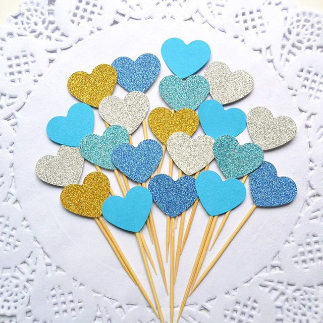 Online shop 10pcsset wedding decoration kids cupcake cake topper 10pcsset wedding decoration kids cupcake cake topper ornament birthday heart decor wedding favors supplies party decoration junglespirit Gallery