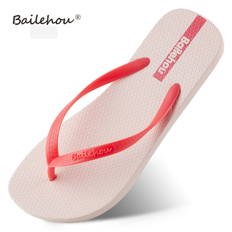 Women Shoes Slippers Fashion Designer Beach Flip Flops Ladies 2017 Summer Flat Heel Thong Sandals free shipping candy color women garden shoes breathable women beach shoes hsa21