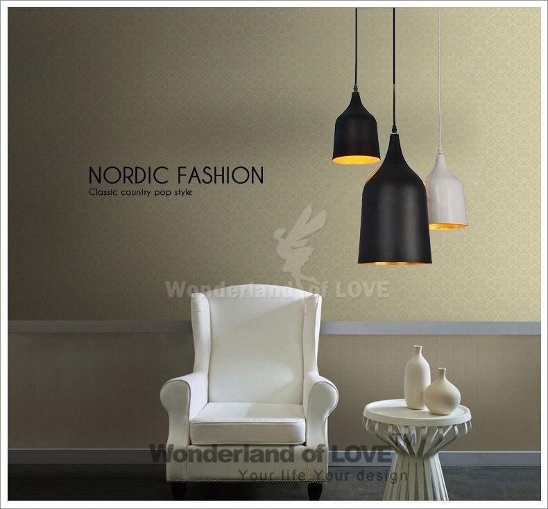 ФОТО Dia20cm Modern Denmark Lightyears Caravaggio Iron Ring Pendant Light Best Selling Restaurant lighting