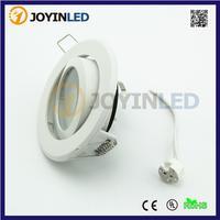 Frost White Led Ceiling GU5 3 MR16 GU10 LED Halogen Bulb Holder Led Light Frame Free