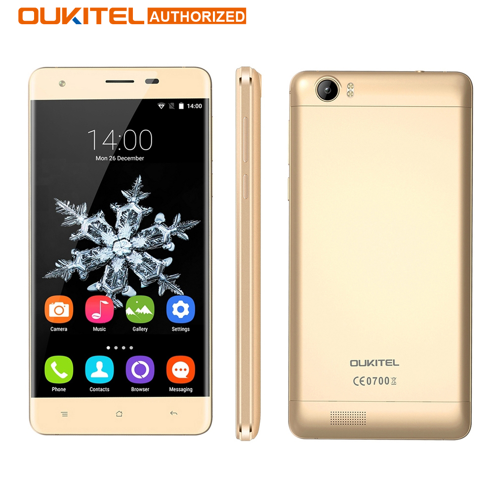 Galleria fotografica D'origine oukitel k6000 4g android 5.1 smartphone 5.5 pouce 2 gb 16 gb 8.0mp mtk6735 6000 mah quad core otg capacitif téléphone portable