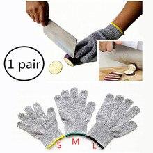 Snijbeschermingshandschoenen Thuis Keuken Werk Food Contact Safe Werk Handschoen Veiligheid Niveau 5 Bescherming Handschoen