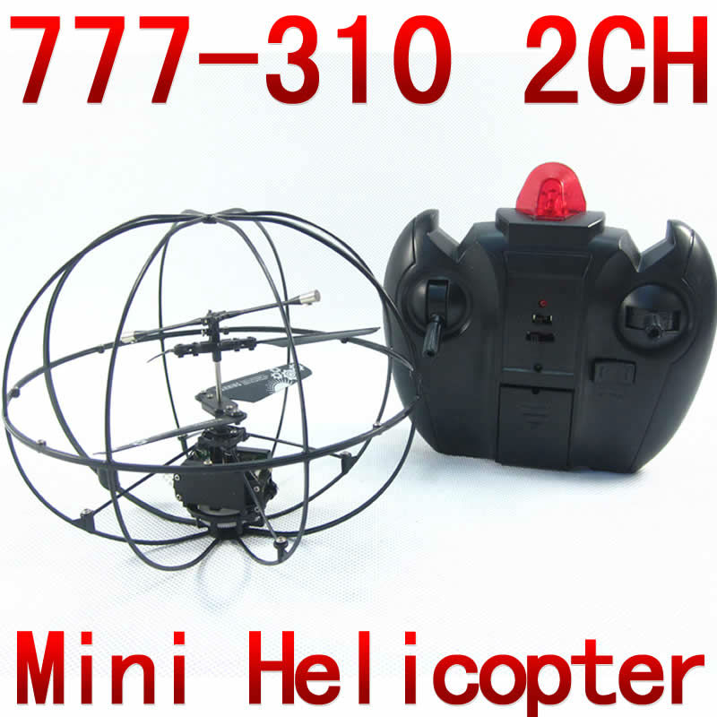2CH gyro RC Mini Helicopter UFO aircraft Remote control fly ball 777-310 NSWB
