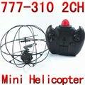 2CH giróscopo aviones UFO helicóptero RC Mini bola de mosca teledirigida 777-310 NSWB