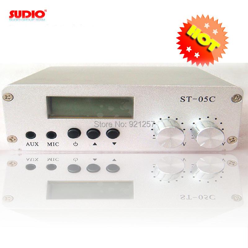 Prix pour Usine prix 0.1 W/0.5 W FM émetteur de Diffusion stéréo pll fm radio diffusion 77-108 MHZ ST-05C hôte seulement
