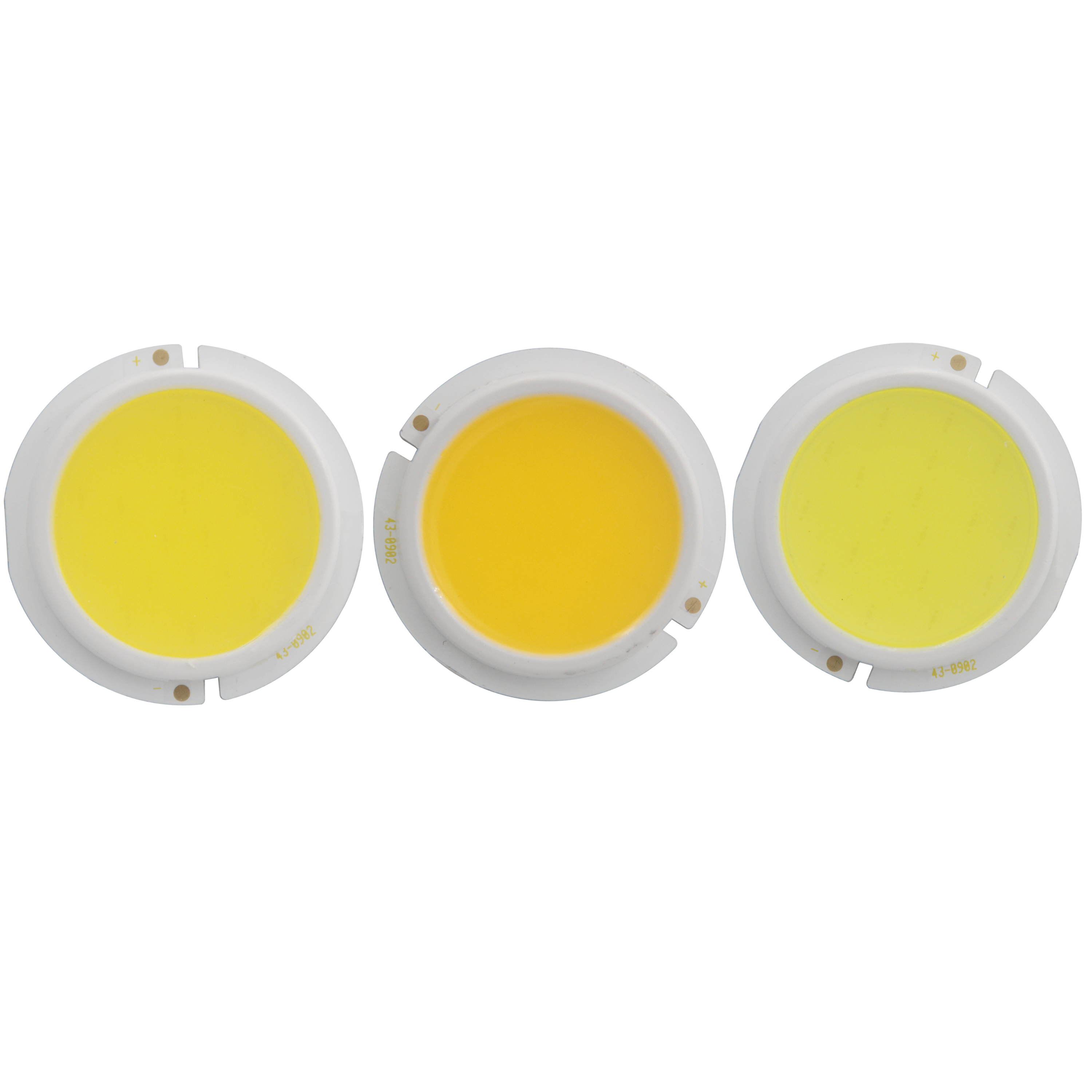 10PCS 43mm thicken LED COB Light Source for spotlight bulb lamp Module genesis chip 3W 5W 7W 9W Warm Nature White COB LED in LED Bulbs Tubes from Lights Lighting
