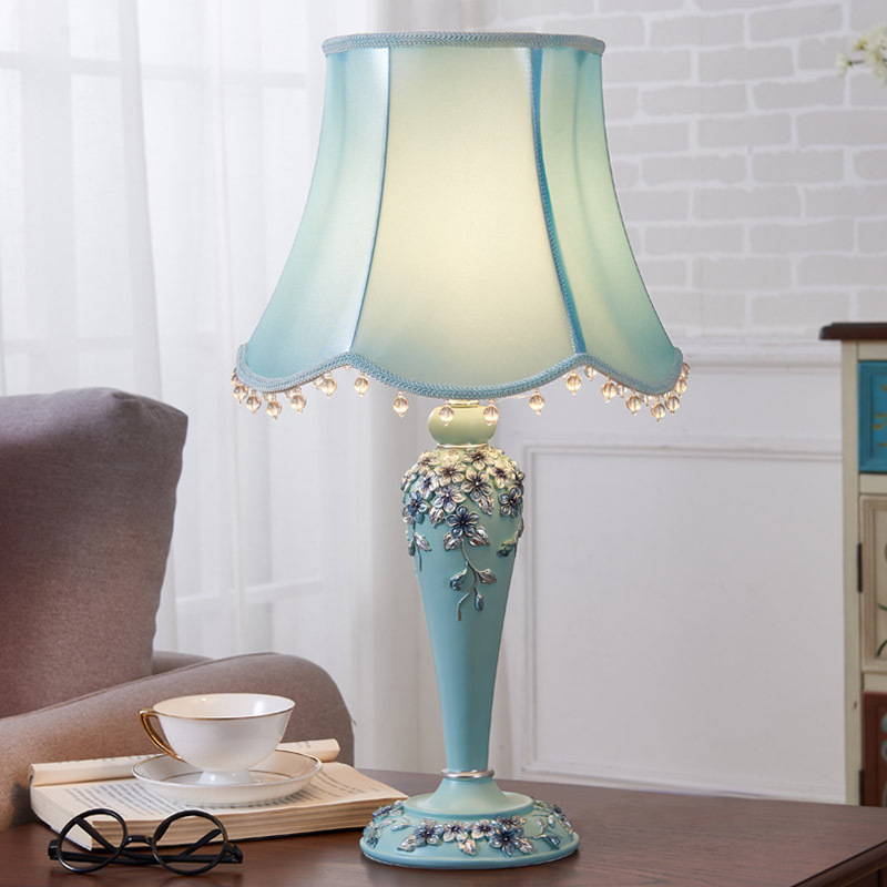 TUDA 30.5X56cm Free Shipping LED Table Lamps Originality European style Table Lamp Bedroom Bedside Wedding Decoration Desk Lamp tuda free shipping glass table lamp european retro style table lamp creative nostalgic table lamp for bedroom bedside desk lamp