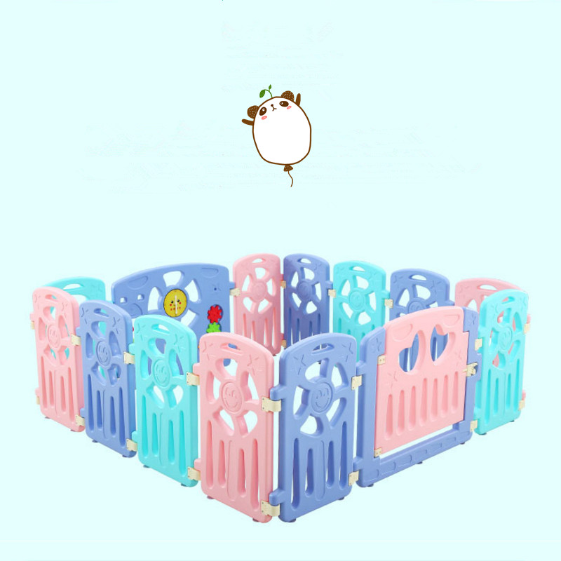 Environmental Children's Fence Baby Games Fence Indoor Crawling Pads Toddler Bars Safety Gate for Babies Toys Playpen for Baby