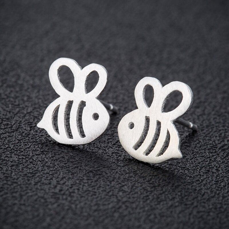 Yiustar Новая мода три Цвет серьги Мёд пчелы для женщин милые животные Мёд Пчелы серьги на день рождения подарок ED245