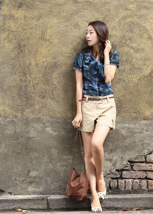 Short Trousers Plus-Size Korean Summer Fashion Women Lady