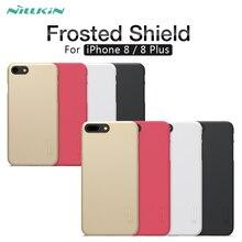 Чехол для iPhone 8 с защитой от отпечатков пальцев Nillkin супер матовый защитный жесткий чехол для iPhone 8 Plus