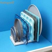 Saingace стеллаж для хранения Регулируемый Кухонный Органайзер стеллажи для выпечки лоток разделочная доска держатель для хранения Подставка ...