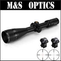 Marcool alt 4 16x50 aoir под 5.56 пуля Пистолеты красной подсветкой тактический страйкбол прицел с Оптические прицелы крепления для Охота