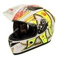 Doule Lens  Motorcycle Helmet Full Face Motor Biker Capacete Casco Cyclegear FF316