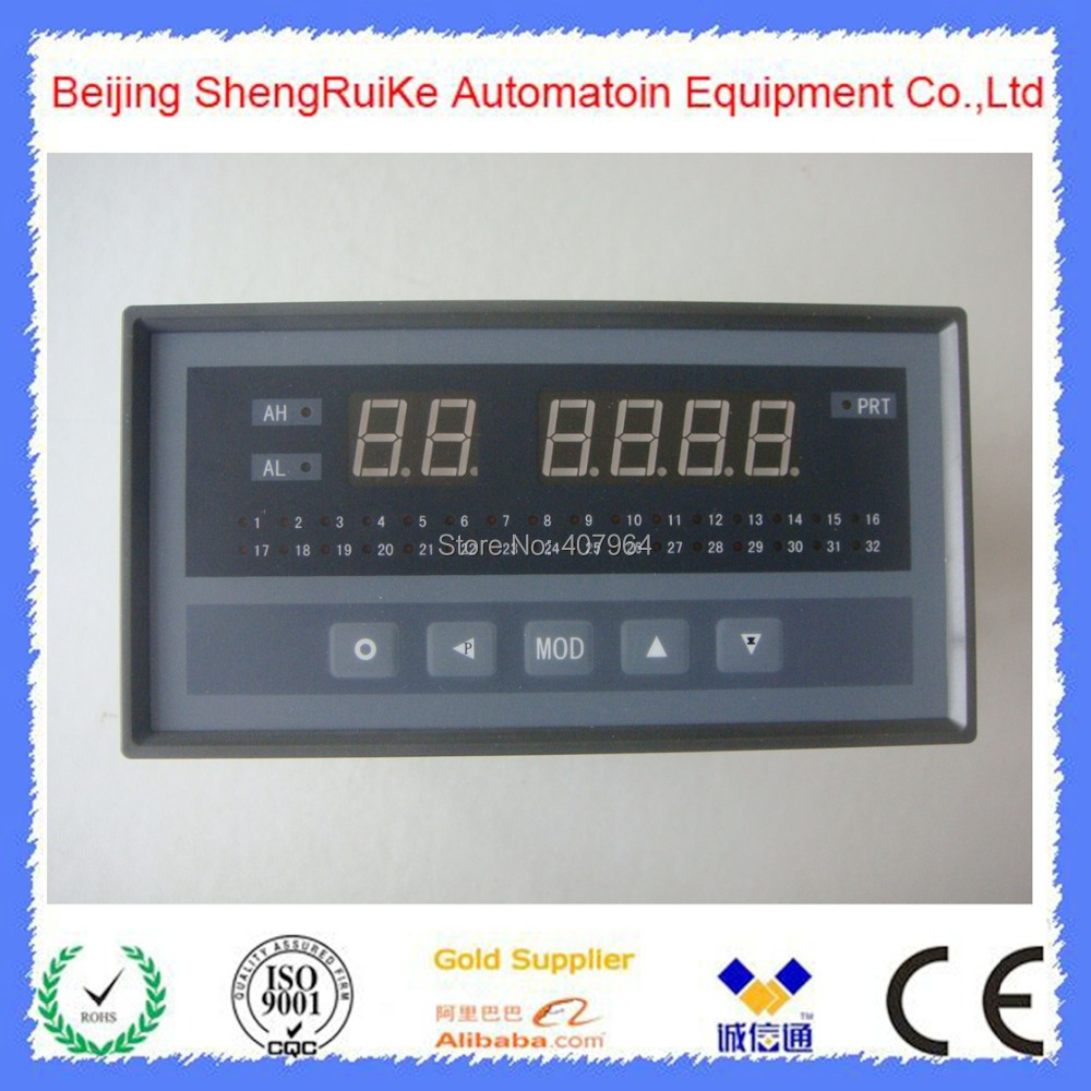 32 Channel TC and RTD font b Digital b font Temperature Controller
